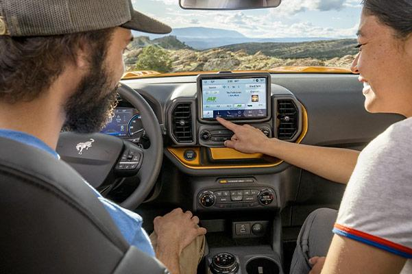 2021 Ford Bronco Sport touch screen