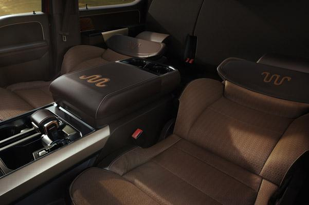 Max Recline Leather seats
