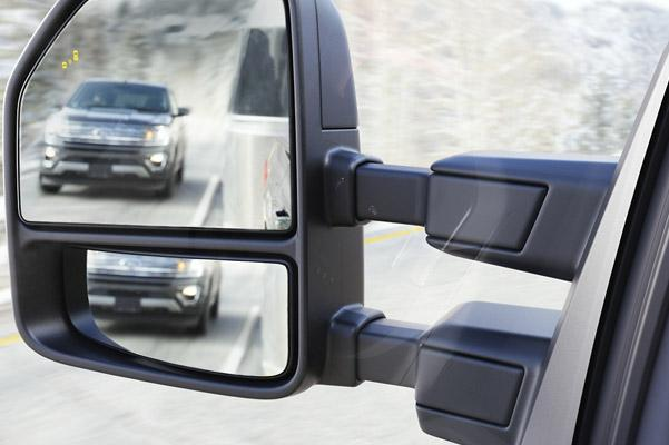 Trailer Tow Mirrors With BLIS®