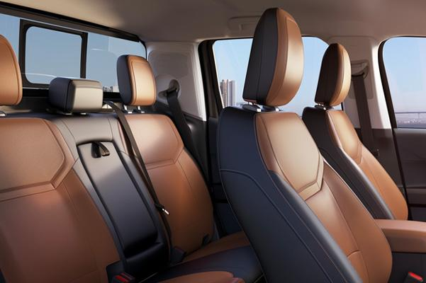 Seating for up to 5 inside of the Maverick