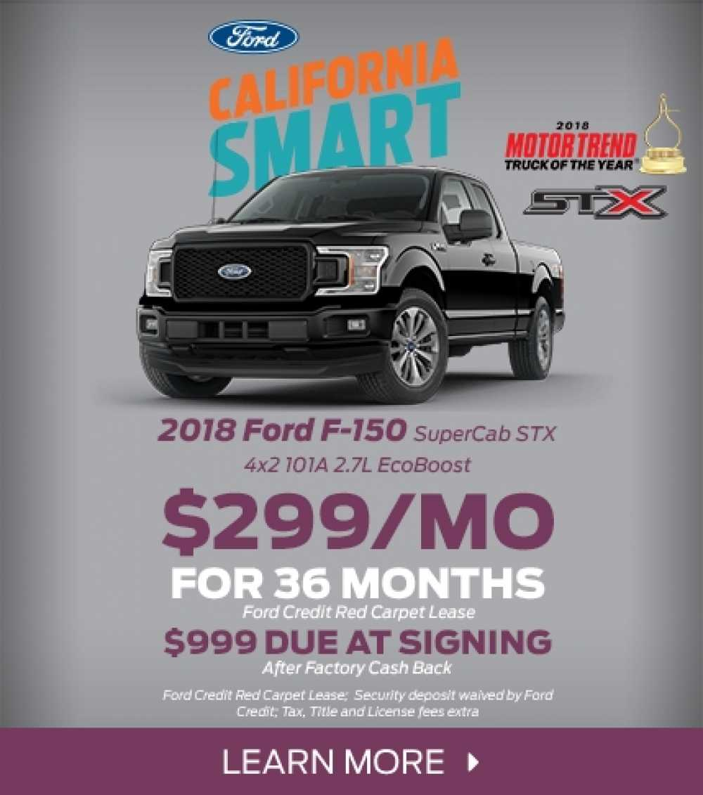 2018 Ford F-150 STX Lease Offer