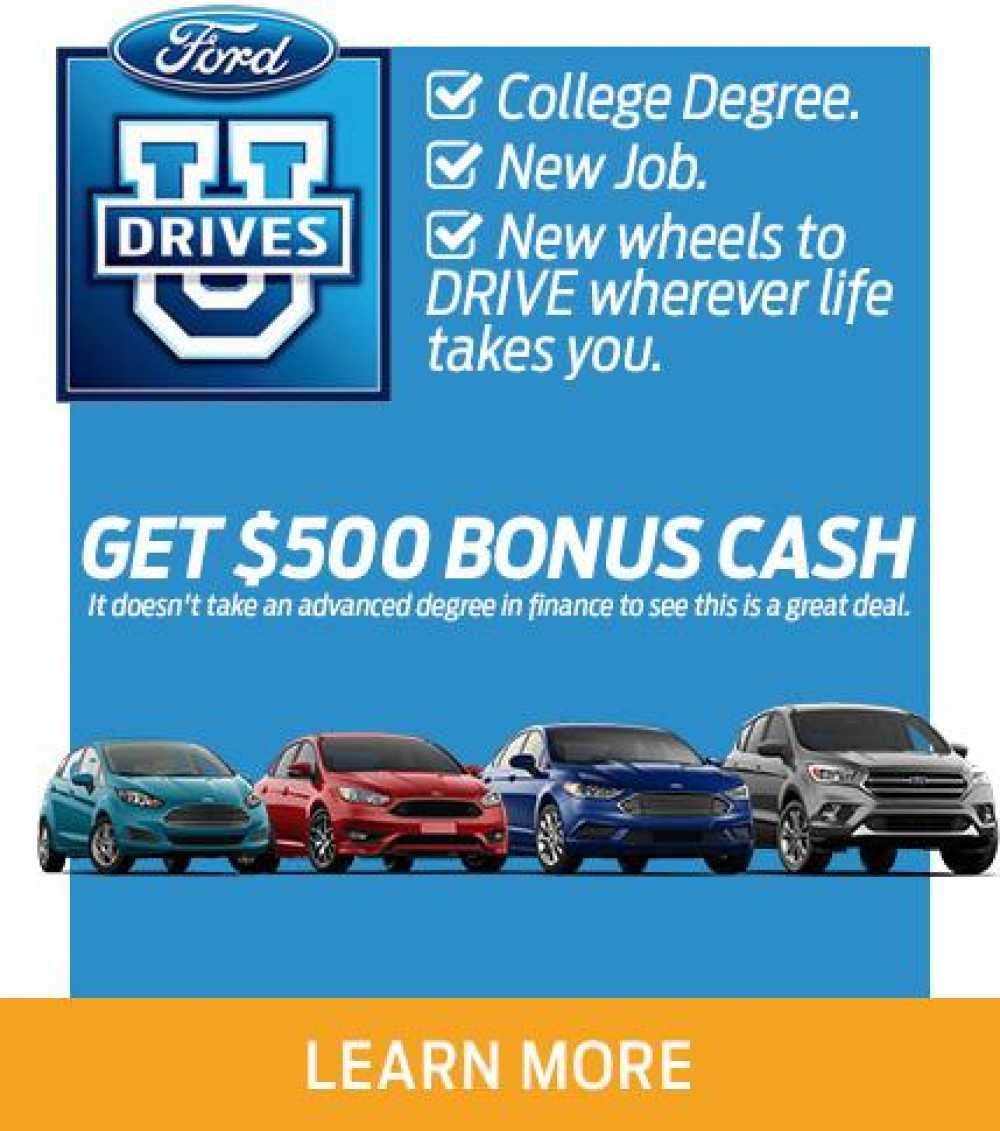 $500 College Grad Bonus Cash