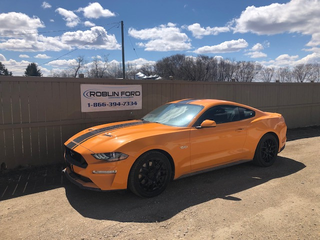 2019 Ford Mustang GT Orange Fury, 5 0L Ti-VCT V8 Engine