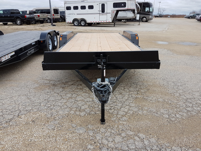 2019 Precision 18 FLATBED RAMP 7000 GVWR