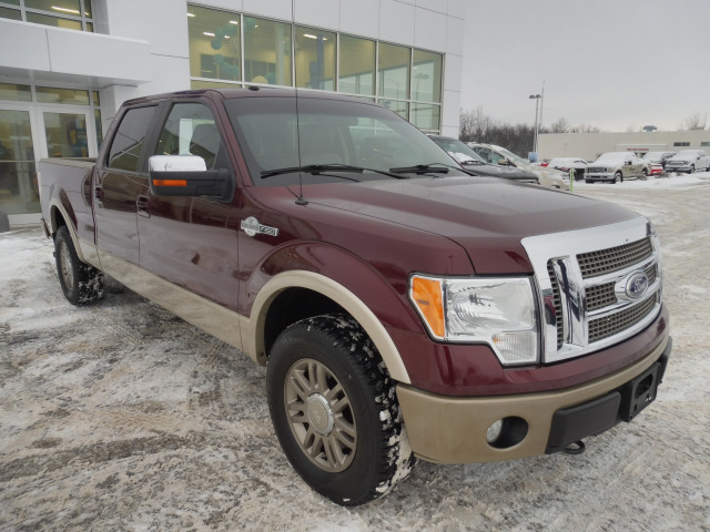 2010 Ford F-150 King Ranch-Crew-V8-Sun Roof