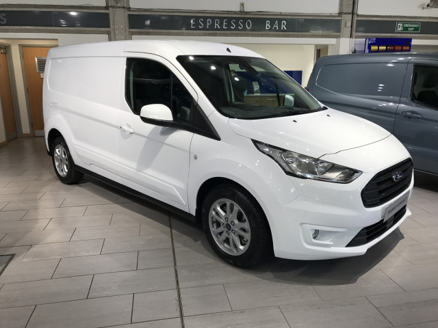 7708f28448 New FORD TRANSIT CONNECT 1.5 EcoBlue 120ps Limited Van