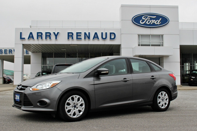 2014 Ford Focus Se Grey Larry Renaud Ford Sales