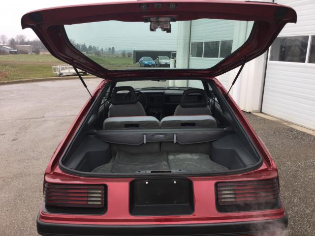1986 Mercury Capri RS