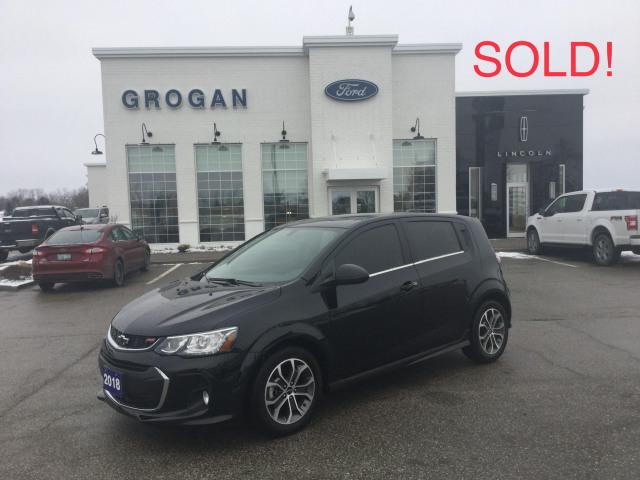 2018 Chevrolet Sonic LT FWD