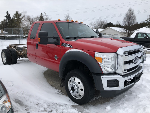 2012 Ford F-550 Chassis Cab