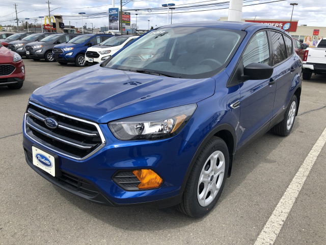 2019 Ford Escape S Lightning Blue, 2.5L i-VCT Engine with ...