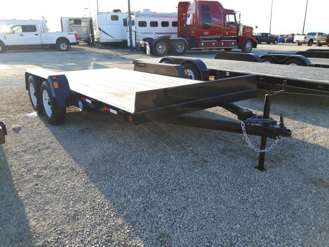 2019 Precision 14 FLATBED RAMP 7000 GVWR