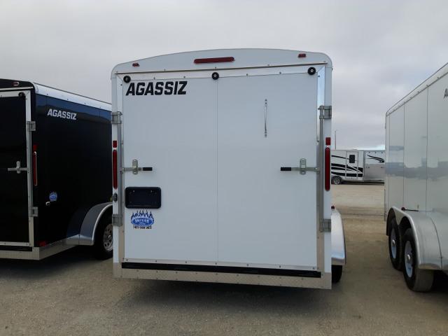 2019 Agassiz 7X14 CARGO RAMP 7000 GVWR