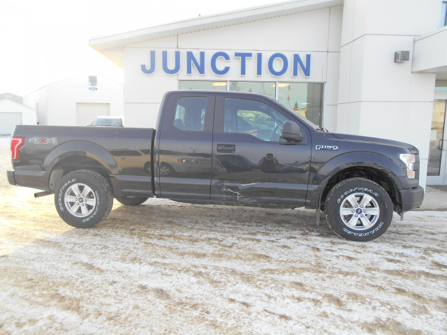 2015 Ford F-150 4WD SuperCab Styleside 6-1/2 Ft Box XLT