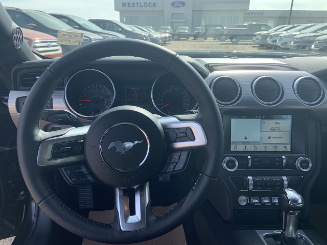 2019 Ford Mustang EcoBoost® Shadow Black, 2 3L EcoBoost