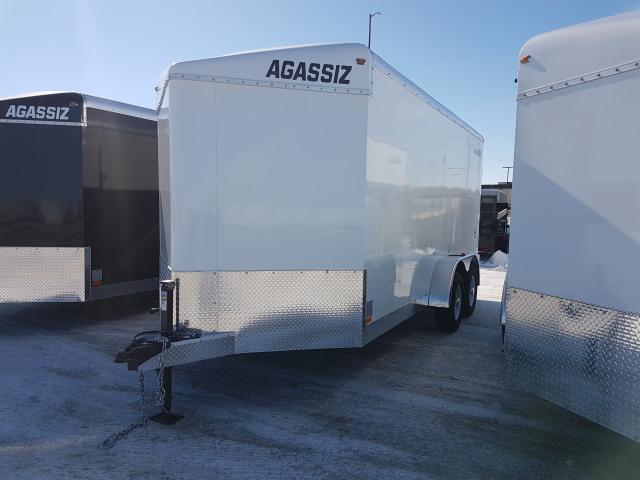 2019 Agassiz 7X16 CARGO RAMP 9900 GVWR