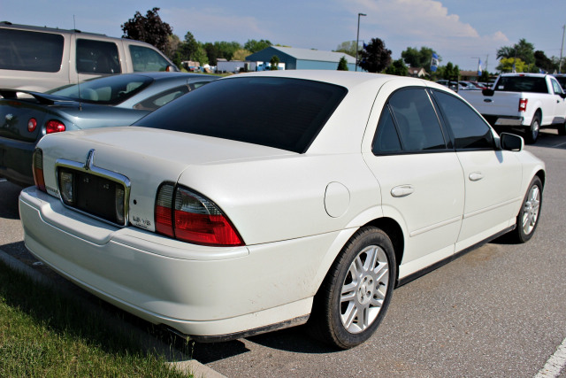 Lincoln Motor Company >> 2004 Lincoln Ls As Is White Larry Renaud Ford Sales