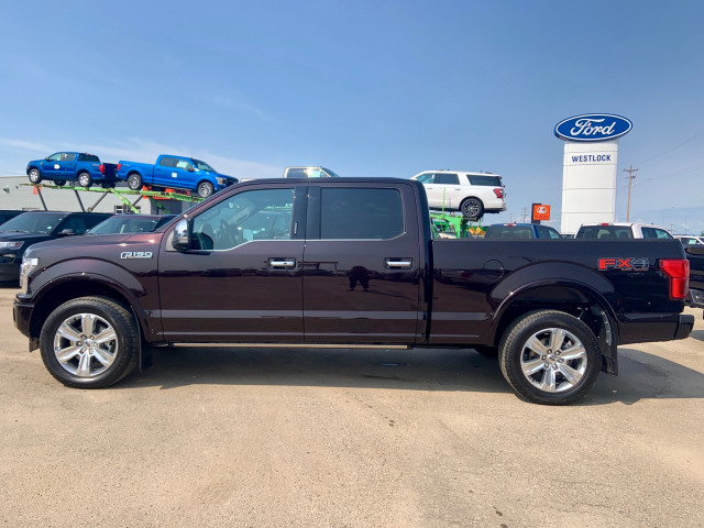 2019 Ford F-150 Platinum Magma Red, 3 5L EcoBoost® V6 engine with