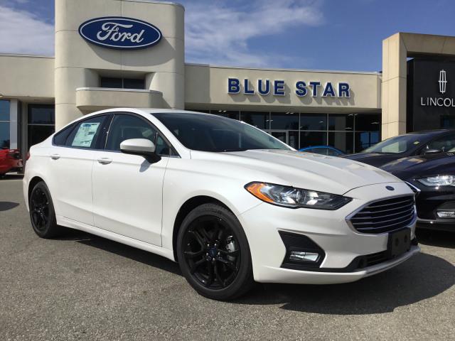 2019 Ford Fusion SE White Platinum, 1 5L Ecoboost Engine