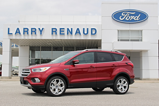 2019 Ford Escape Titanium Ruby Red, 2 0L EcoBoost Engine