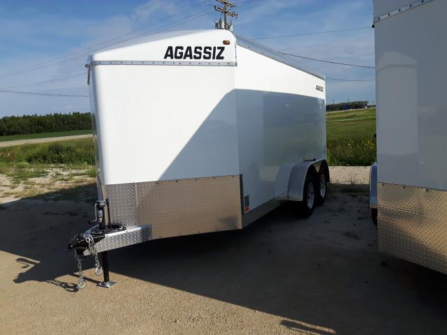 2020 Agassiz 7X14 CARGO RAMP 7000 GVWR