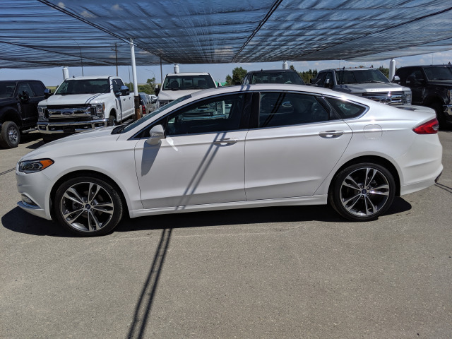 2018 Ford Fusion Titanium HEATED/COOLED SEATS, POWER MOONROOOF, NAVIGATION SYSTEM