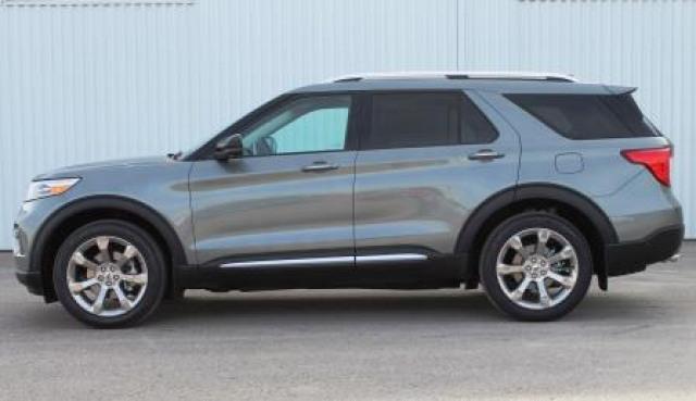 2020 Ford Explorer Platinum Silver Spruce 3 0l Ecoboost V6