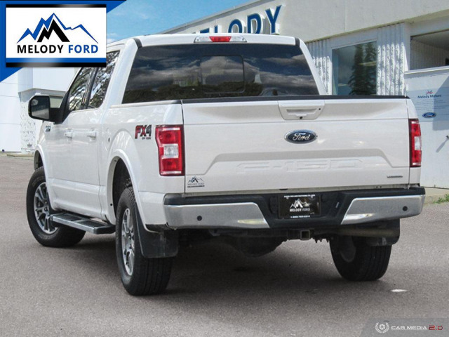 2018 Ford F-150 4X4-SUPERCREW LARIAT-157 WB