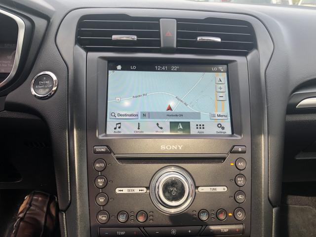 2017 Ford Fusion TITANIUM w/HEATED LEATHER, MOONROOF, NAVIGATION