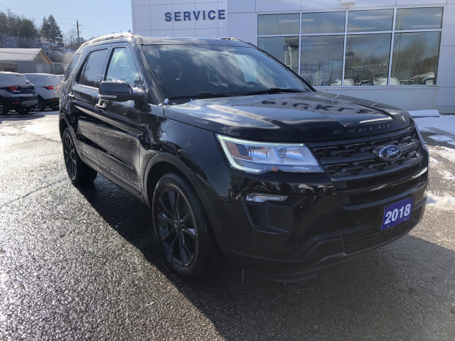 2018 Ford Explorer XLT w/HEATED LEATHER, PANO ROOF, NAVIGATION, APPEARANCE PKG