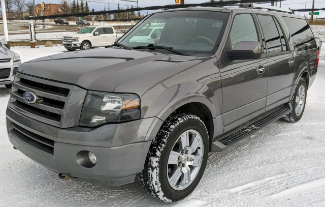 2010 Ford Expedition MAX Limited 4x4 5.4L V8 Gray, Sunroof, NAV, DVD