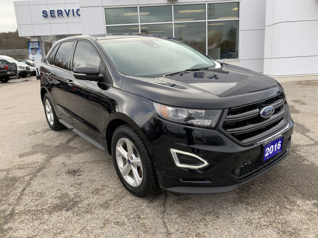 2016 Ford Edge SPORT w/HEATED SEATS AND WHEEL, NAVIGATION, SUNROOF, ONE OWNER