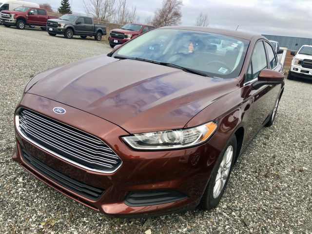 2015 Ford Fusion S