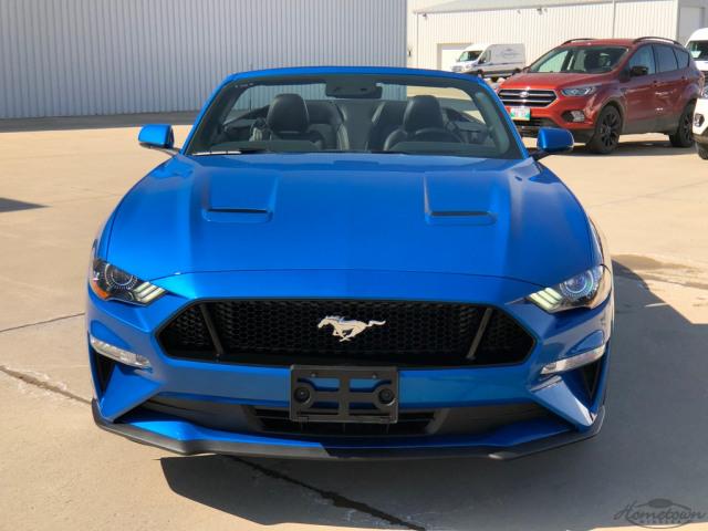 2020 ford mustang gt premium velocity blue, 5.0l ti-vct v8