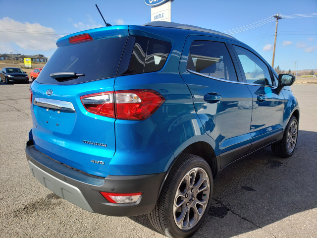 2020 Ford EcoSport Titanium Blue Candy Metallic Tinted ...