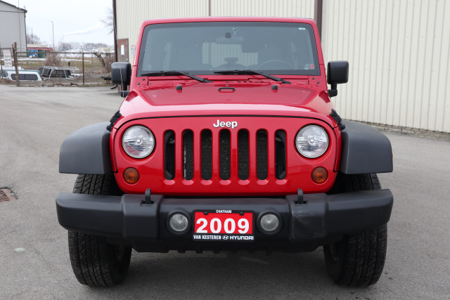2009 Jeep WRANGLER UNLIMITED