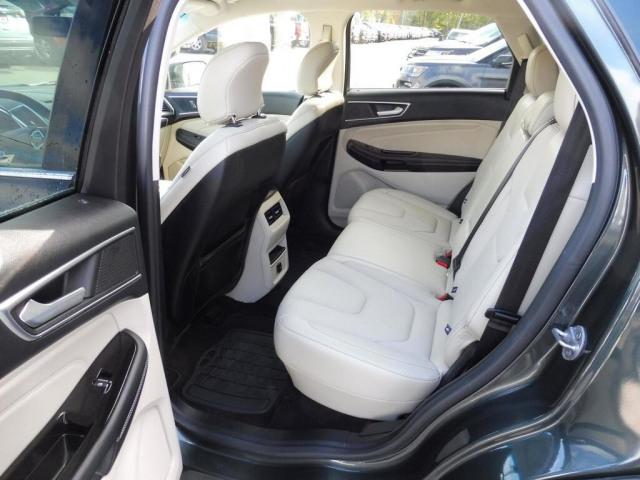 2015 Ford EDGE 2.0L TITANIUM AWD WHITE LEATHER