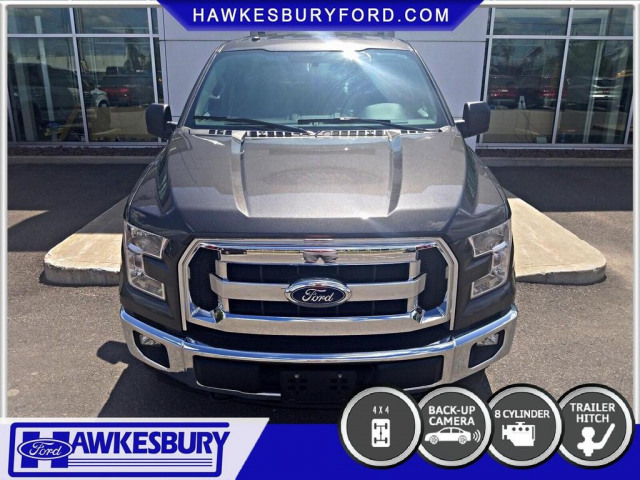 2017 Ford F150 4X4 SUPERCREW TRAILER TOW PACKAGE