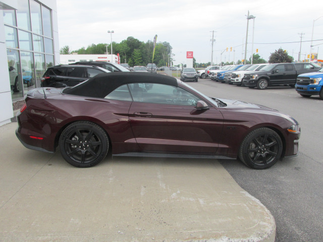 2018 Ford MUSTANG GT CONVERTIBLE REAR DECKLID SPOILER- BLACK APPEARANCE PACKAGE