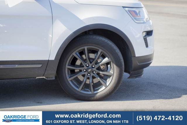 2018 Ford Explorer XLT, LEATHER, NAVIGATION, MOON ROOF, TECH PACKAGE, SPORT APPEARA