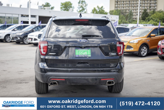 2016 Ford Explorer Sport, 3.5 L Eco Boost High Performance Twin Turbo
