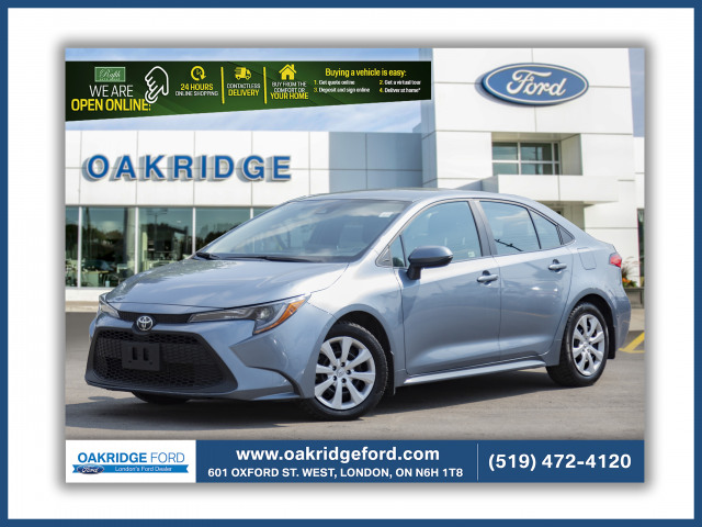 2020 Toyota Corolla LE, Great Car, Excellent commuter