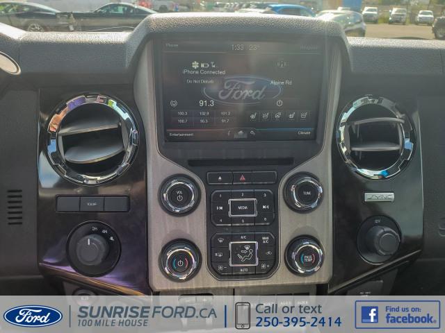 2016 Ford SUPER DUTY F-350 DRW PLATINUM