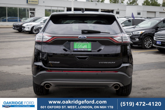2017 Ford Edge Titanium, LOCALLY OWNED AND SERVICED