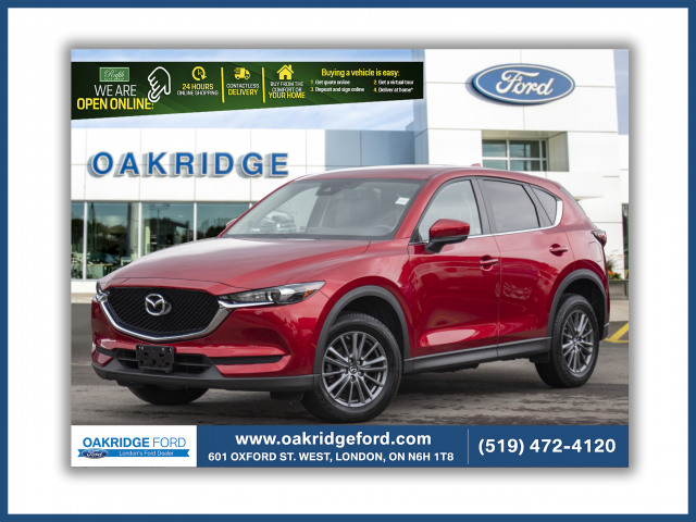 2018 Mazda CX-5 GS, Nice CX5, low km, super clean, Leather, moon roof, blue toot