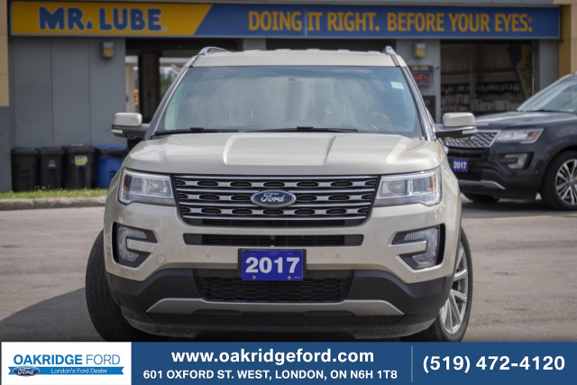 2017 Ford Explorer Limited, Brand New Tires, New Brakes Front and Rear.  Ready to G