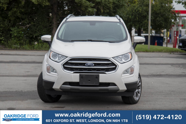 2018 Ford EcoSport Titanium, AWD, Leather, Moonroof, Bluetooth