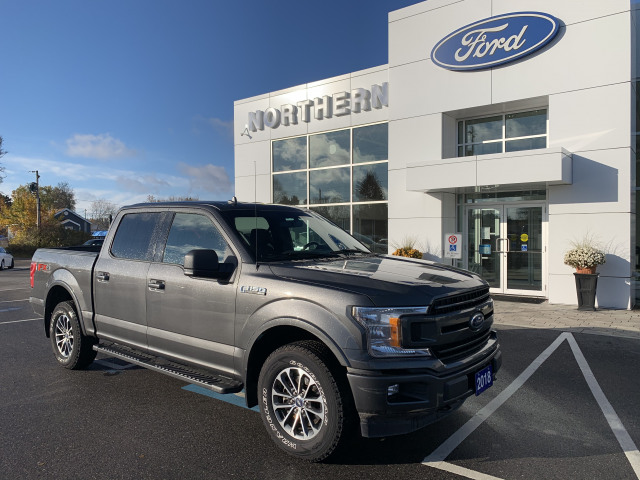2018 Ford F-150 XLT SPORT FX4 302A