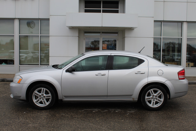 2008 Dodge Avenger Se Gray 2 4l I4 16v Mpfi Dohc Kelleher Ford Sales Dauphin