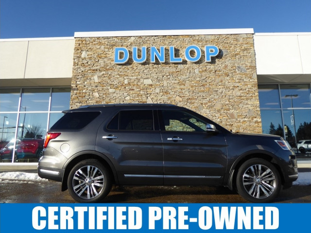 2018 Ford Explorer Platinum 4WD w/ 3.5L EcoBoost Engine